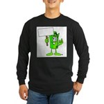 Mr. Deal - What's YOUR Score? Long Sleeve Dark T-S