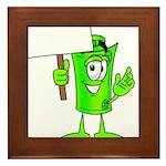 Mr. Deal - What's YOUR Score? Framed Tile