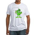 Mr. Deal - What's YOUR Score? Fitted T-Shirt