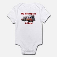 Grandpa Is My Hero FireTruck Onesie