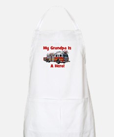 Grandpa Is My Hero FireTruck Apron