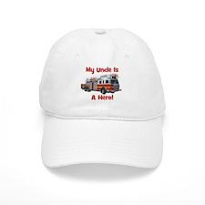 Uncle Is My Hero FireTruck Baseball Cap