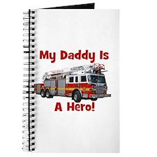 Daddy Is My Hero FireTruck Journal