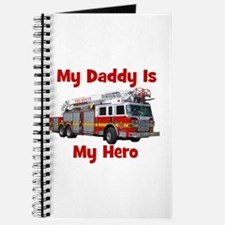 Daddy Is My Hero FireTruck Journal