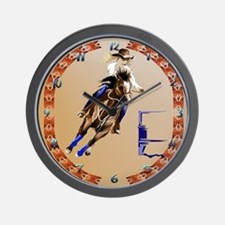 Barrel Horse Wall Clock
