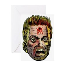 $3.99 Hole in the Head Greeting Card