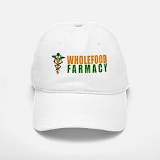 Wholefood Farmacy White Logo Baseball Baseball Baseball Cap