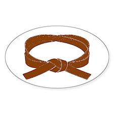 Brown Belt Decal