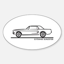 1968 Mustang Hardtop Decal