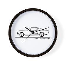 1968 Mustang Fastback Wall Clock