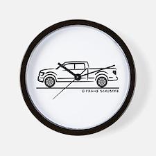 2010 Ford F 150 Wall Clock