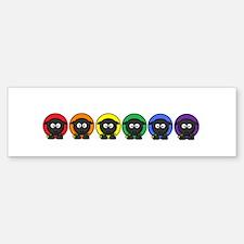 Rainbow Sheep Sticker (Bumper)