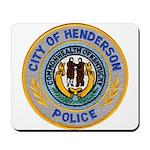 Henderson Police Mousepad