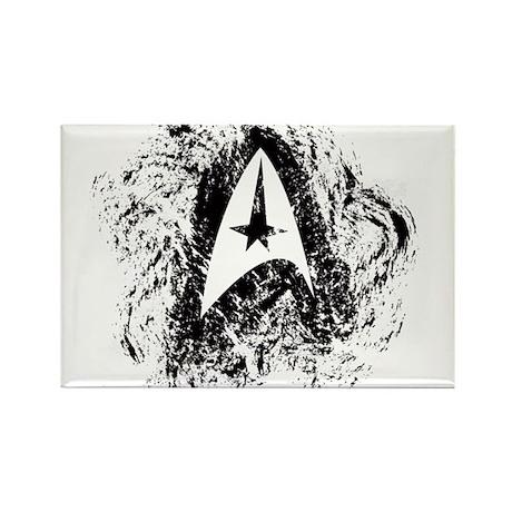 Star Trek Insignia Art Rectangle Magnet