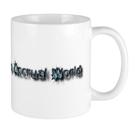 It's Accrual World Mug