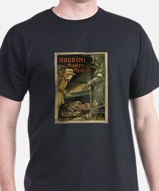 HOUDINI MAN OF MYSTERY INTL POSTER T-Shirt