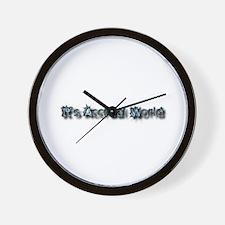 It's Accrual World Wall Clock