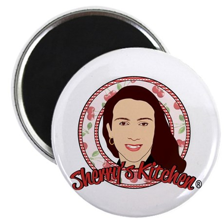 """Sherry's Kitchen 2.25"""" Magnet (100 pack)"""