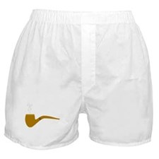Plain Pipe Boxer Shorts