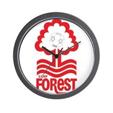 Camp Forest Wall Clock