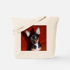 Cute Toy fox terrier Tote Bag