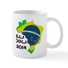 Cute Brasil map Mug