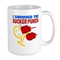 Sucker Punch Large Mug