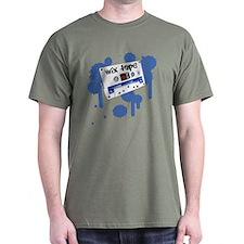 Old School Cassette Mix Tape - T-Shirt