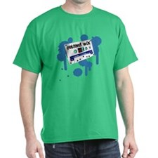 Old School Oakland Mix Tape - T-Shirt