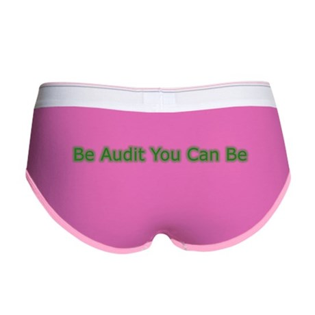 Be Audit You Can Be Women's Boy Brief