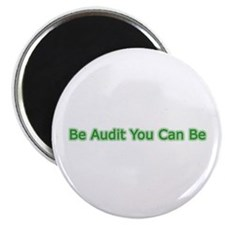 "Be Audit You Can Be 2.25"" Magnet (10 pack)"