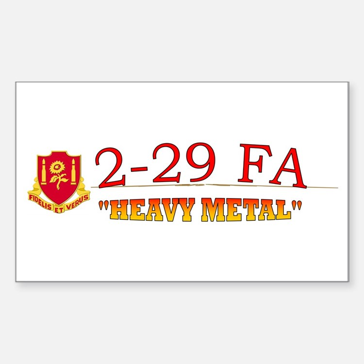 2nd Bn 29th FA Decal