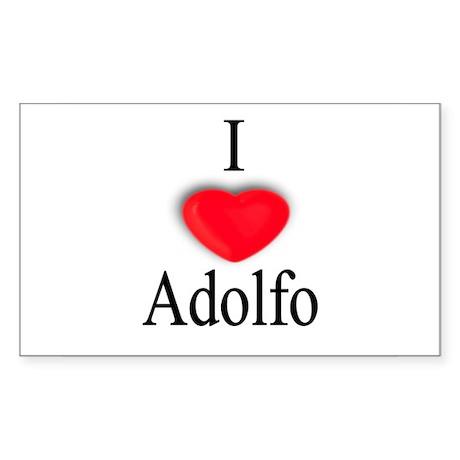 Adolfo Rectangle Sticker