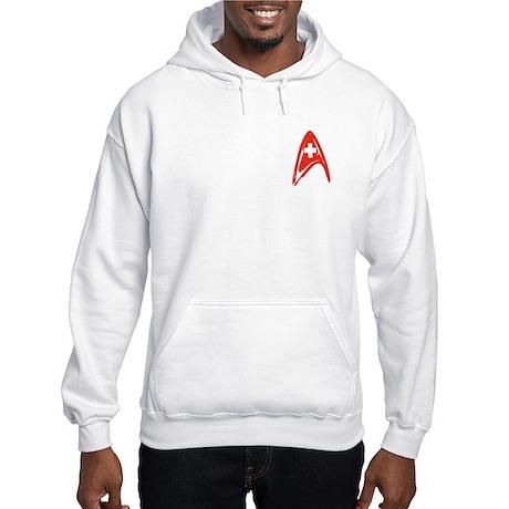 StarFleet Medical Hooded Sweatshirt