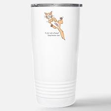 Floozy Cat Travel Mug