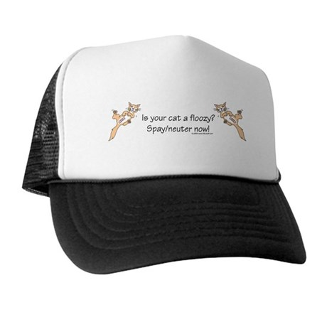 Floozy Cat Trucker Hat