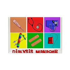 Unique Dialysis tech Rectangle Magnet
