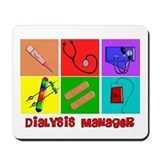Dialysis nurse Mouse Pads