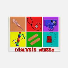 Cool Dialysis nurse Rectangle Magnet