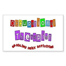 Occupational Therapy Decal