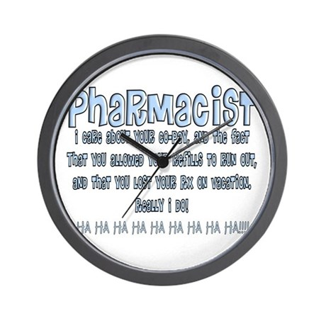 Pharmacist II Wall Clock