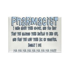 Pharmacist II Rectangle Magnet
