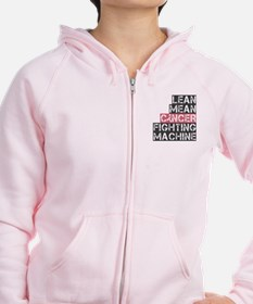 Breast Cancer Fighter Zip Hoodie