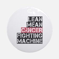 Breast Cancer Fighter Ornament (Round)