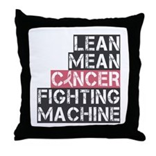 Breast Cancer Fighter Throw Pillow