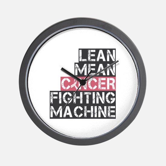 Breast Cancer Fighter Wall Clock