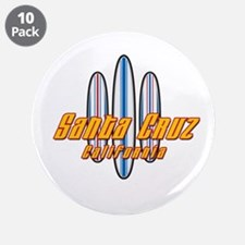 "Santa Cruz and Boards 3.5"" Button (10 pack)"