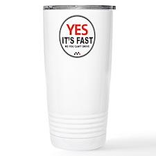 Yes It's Fast Travel Mug