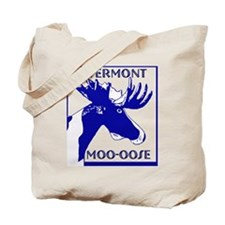 Authentic Vermont Moo-oose Ge Tote Bag