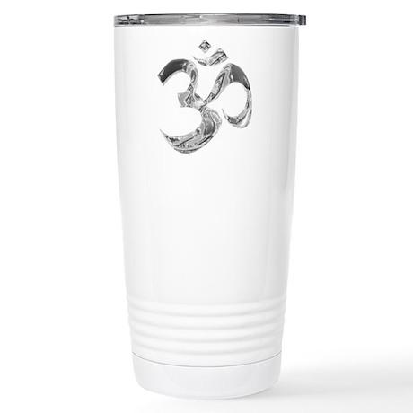 Om Stainless Steel Travel Mug